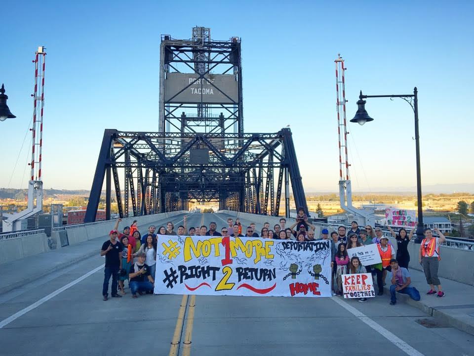 Organizers in Tacoma. Photo: 1Love Movement.