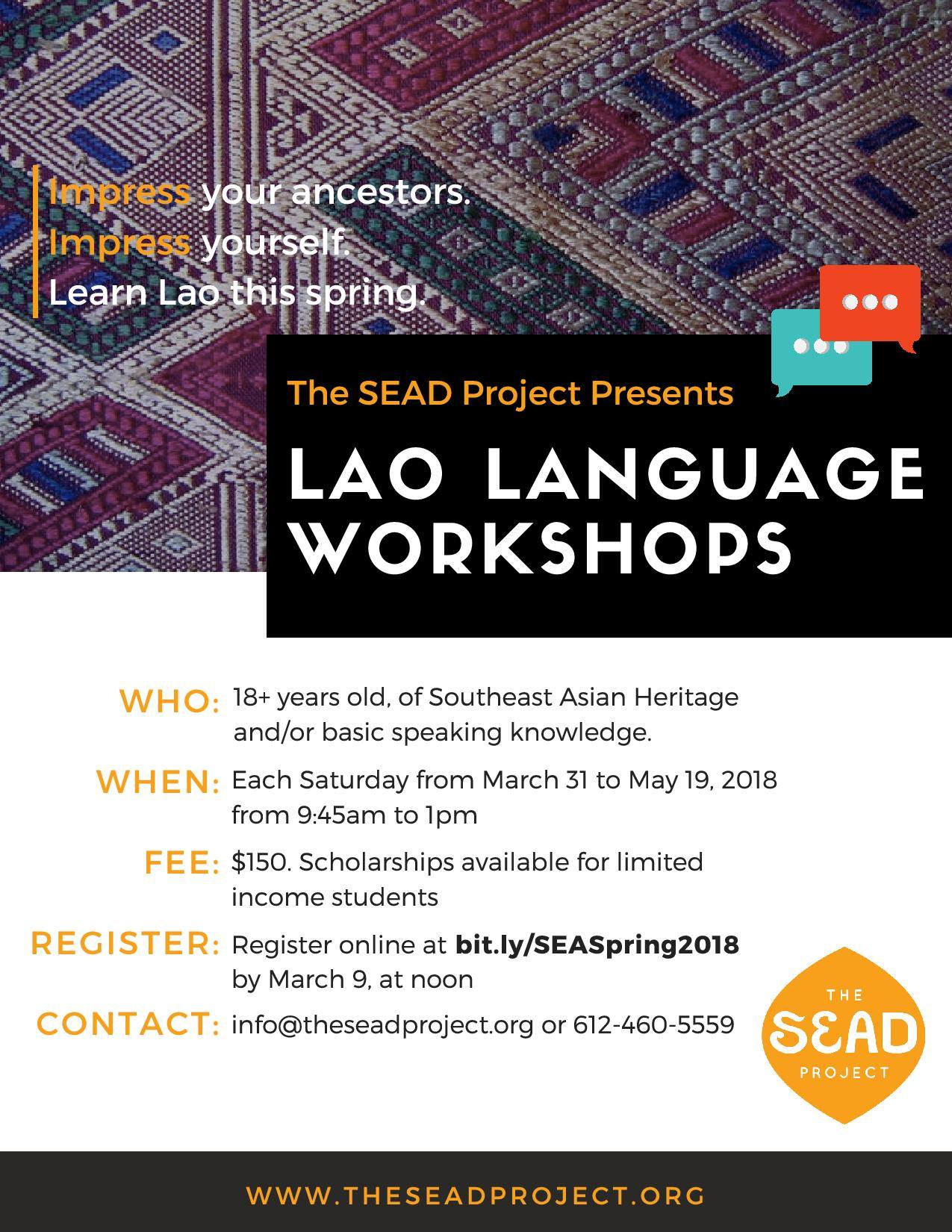 The SEAD Project: Spring Language Courses Open for